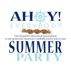 Ahoy Everybody! 2016 Summer Party (Bid Today!)