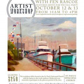 Sign up for the artist workshop