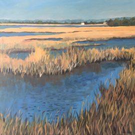 Stephen Moore in the Art Gallery