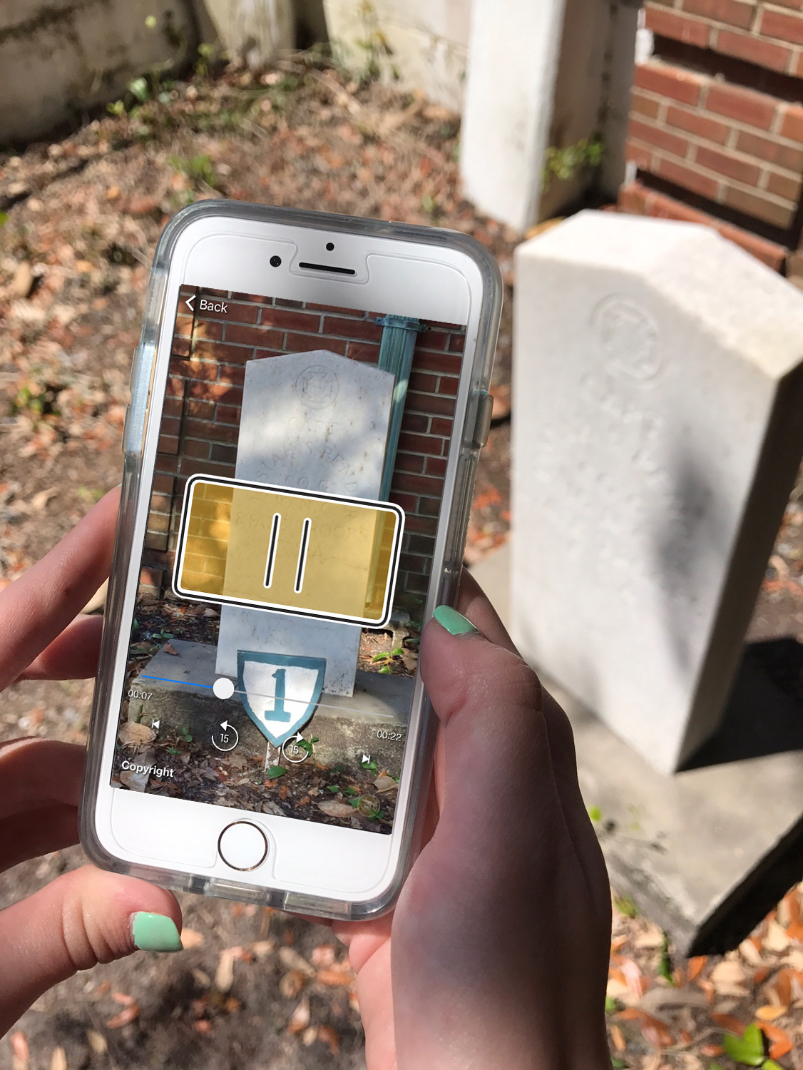 New Technology for the Old Burying Ground