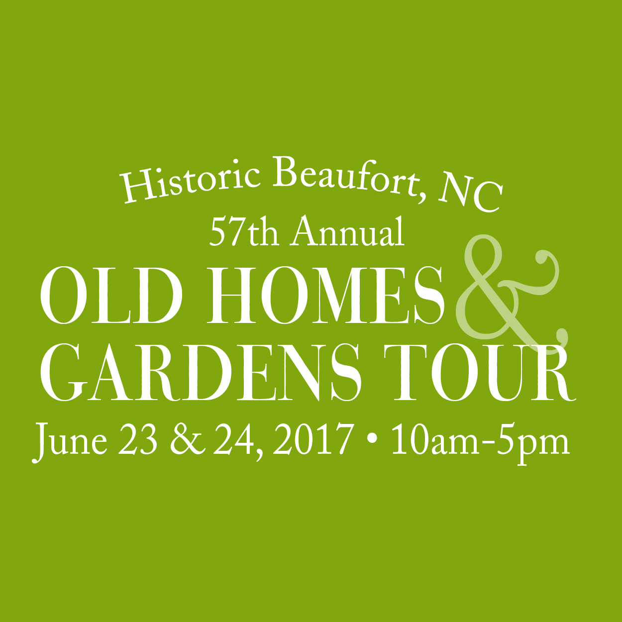 Th Beaufort Old Homes And Gardens Tour June
