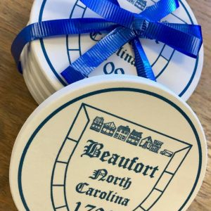 Beaufort NC Coaster – Set of Four