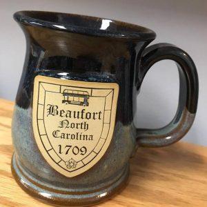 Beaufort NC 1709 Mug – Blue