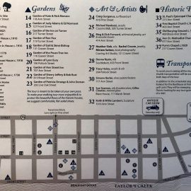 Old Homes Tour Map!