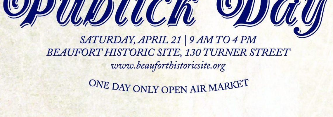 Publick Day – April 21