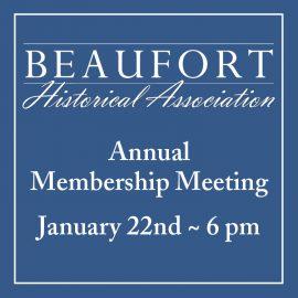 BHA's Annual Membership Meeting