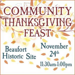 2019 Community Thanksgiving Feast