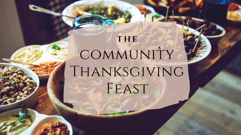 the community thanksgiving feast