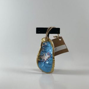 Oyster Map Ornament