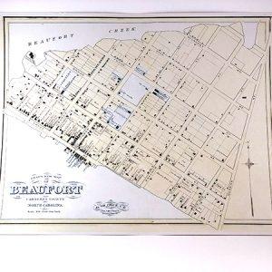 Civil War Beaufort Map