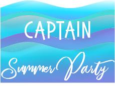2021 Summer Party Sponsor – CAPTAIN