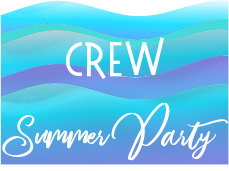 2021 Summer Party Sponsor – CREW